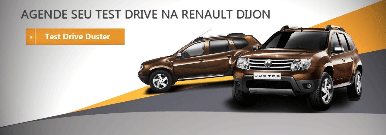 Agende seu test drive na Renault Dijon - Duster